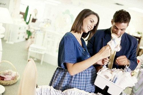 Mẹo sắm đồ trước khi sinh