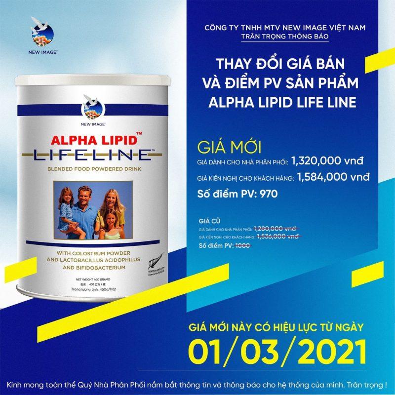 Tang gia sua non Alpha Lipid Lifeline