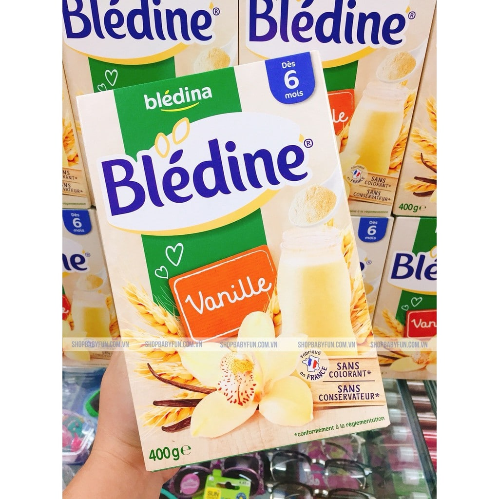 Bột lắc sữa Bledina