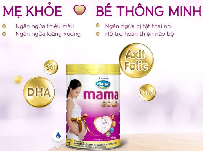 Sữa bầu Dielac Mama Gold