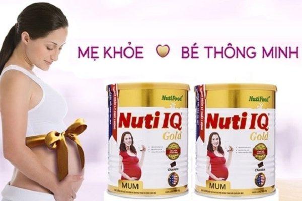 Sữa bầu Nuti IQ Gold Mum