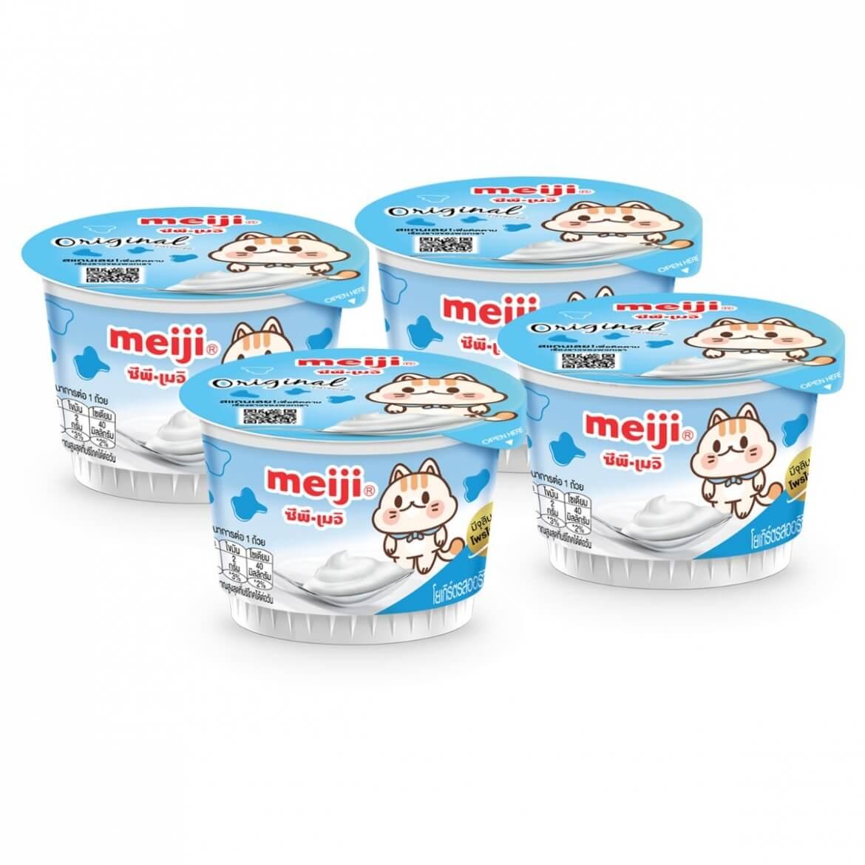 Sữa chua Meiji nguyên chất