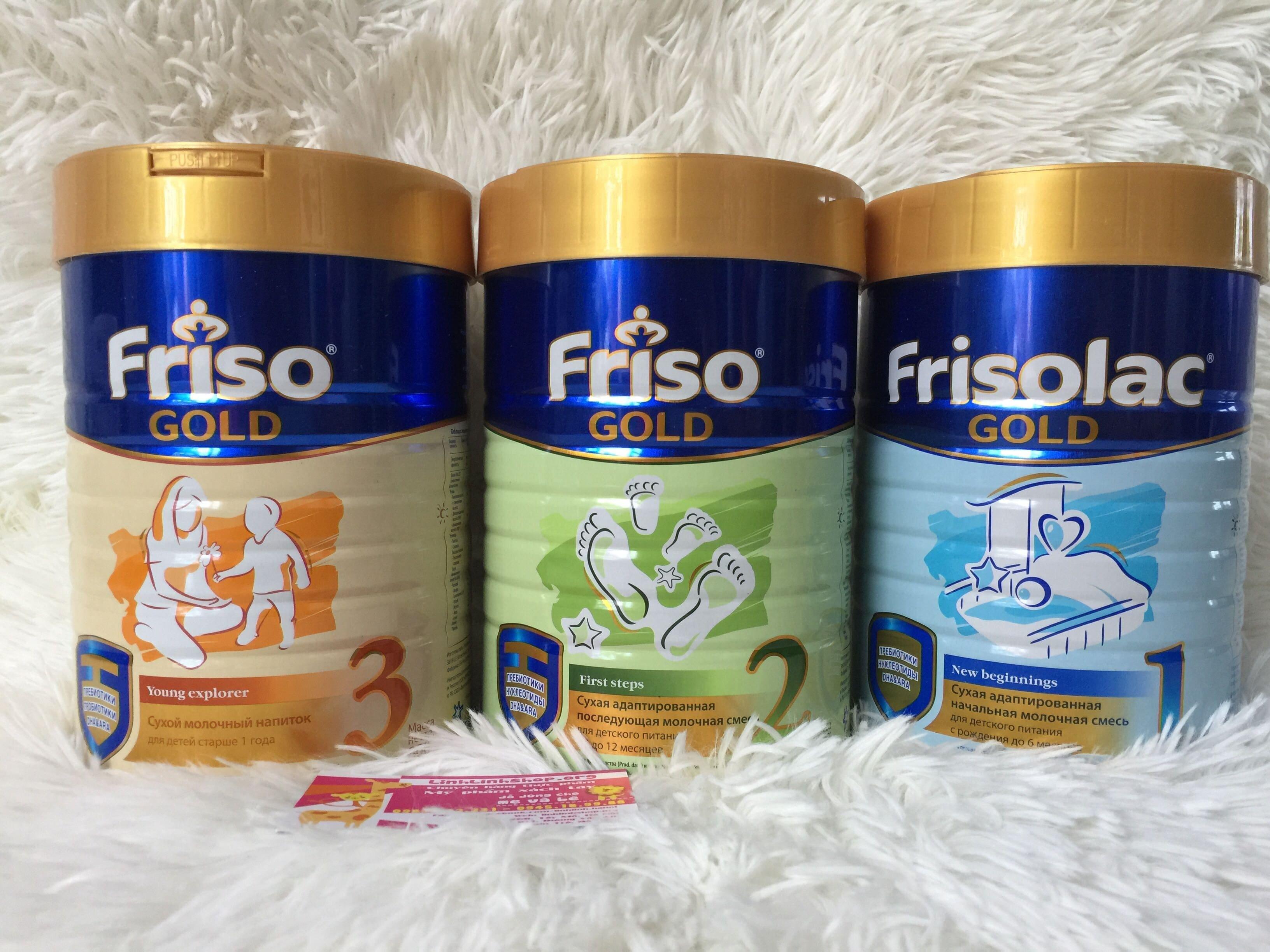 Sữa Friso Gold