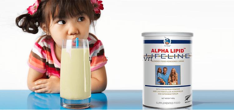 Sữa non alpha lipid ngày uống mấy lần