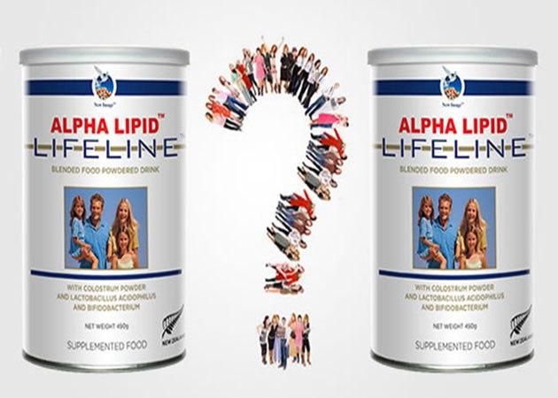 Sữa non Alpha Lipid Lifeline giả
