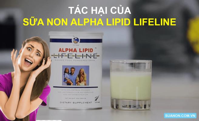 Tac hai cua sua non Alpha Lipid Lifeline