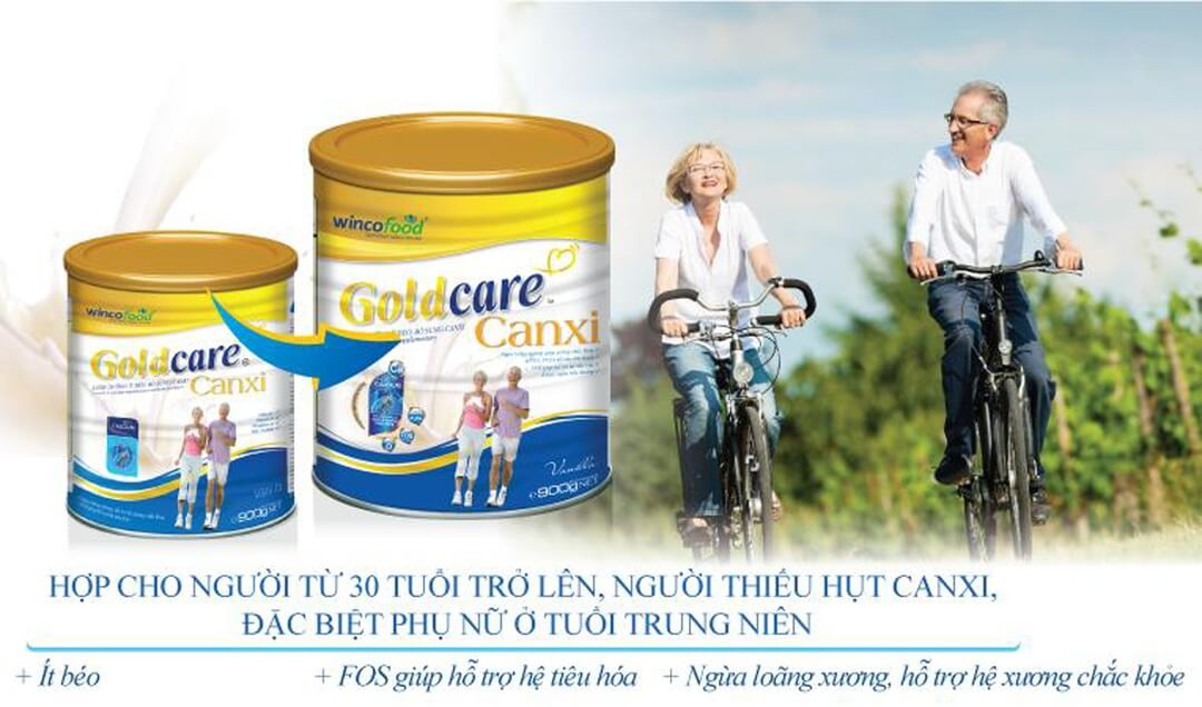 Wincofood GoldCare Canxi