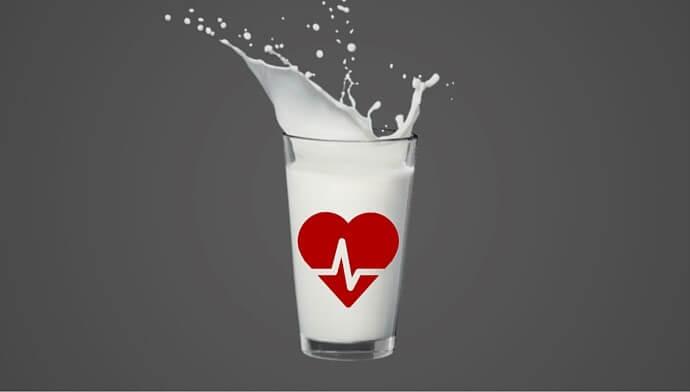 Sữa tốt cho hệ tim mạch