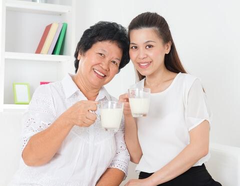 Tiêu chí chọn sữa cho người già