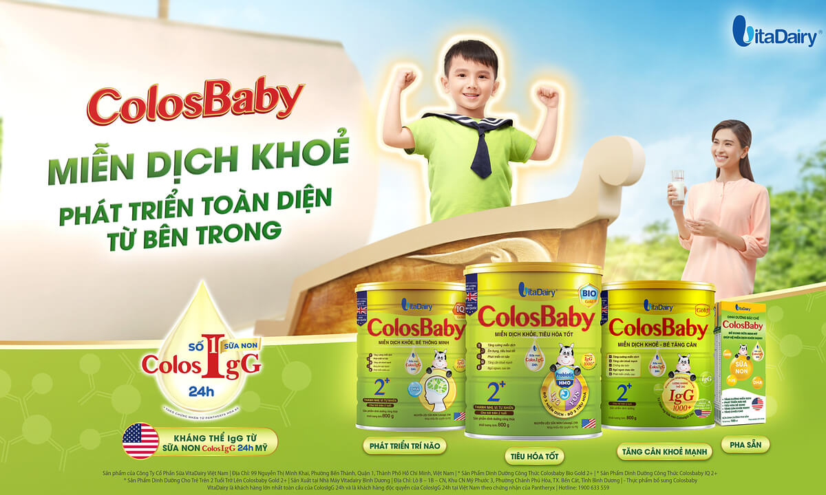 Sữa Colosbaby miễn dịch