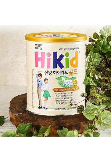 Sữa Hikid dê sức đề kháng khỏe