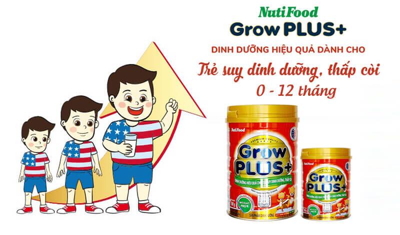 Sữa Grow Plus đỏ Úc bé tăng cân