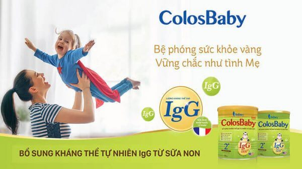 Sữa non Colosbaby gold mới