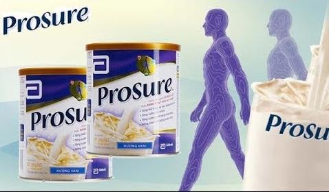 Sữa Prosure tăng cường sức đề kháng
